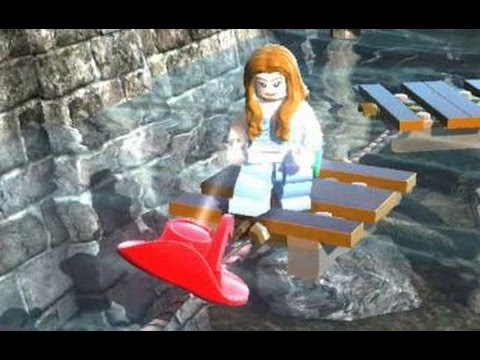 LEGO Pirates of the Caribbean - All 20 Red Hats (Port Royal - All Cheats Unlocked)