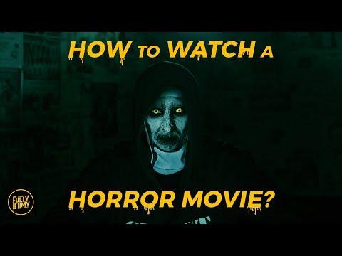 How to watch a Horror Movie? | Abishek Raaja | Fully Filmy
