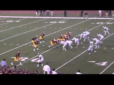 Cameron Walker Loyola High School Football Highlights 2012