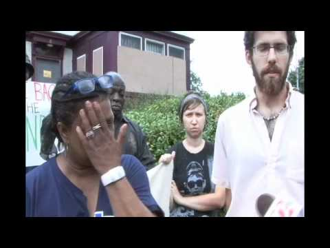 TBTL Press Conference Protesting Virginia Henry's Eviction and Police Brutality