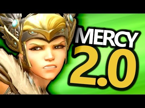 Mercy Becomes A GOD! (Overwatch) Mercy 2.0 Detailed