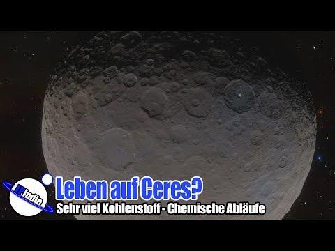 Leben auf Ceres? - Hoher Kohlenstoffgehalt und Aktivität