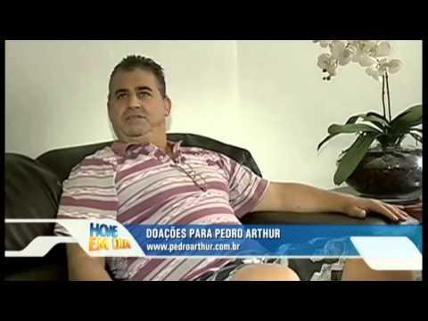 Matéria Especial sobre Pedro Arthur no programa Hoje em Dia da Rede Record
