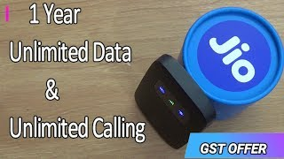 JioFi 3 Jio 4G Wirless Router & Hotspot Unboxing & Review !! Speed Test Compare With Phone !! HINDI