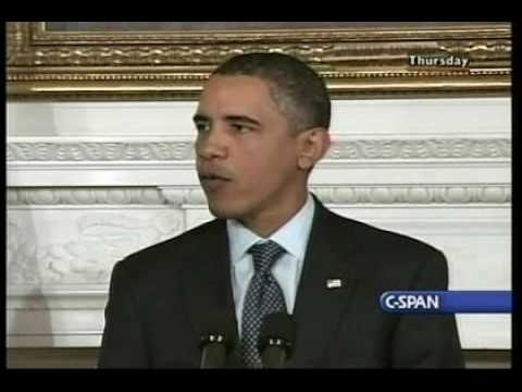 Obama press conference on Underwear bomber pt 1
