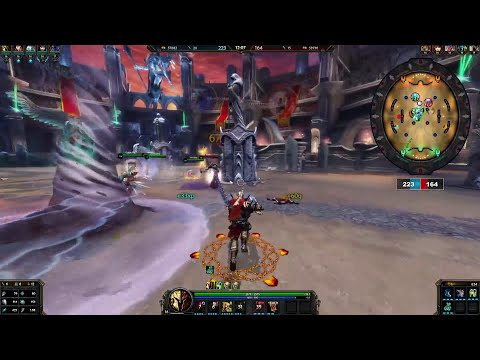 SMITE - Ares Arena Gameplay