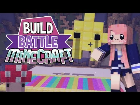 Rainbow Road! | Build Battle | Minecraft Building Minigame