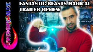 Fantastic Beasts and Where to Find Them Full Trailer Magical Review #awesomesauce #Awesometacular