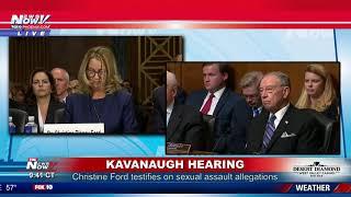 FULL OPENING STATEMENT: Christine Ford's sexual assault allegations against Brett Kavanaugh (FNN)