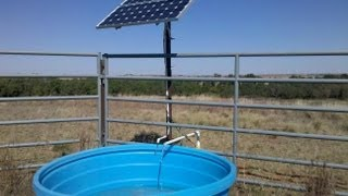 Advanced Power Inc. solar well pump install. www.solarpumps.com