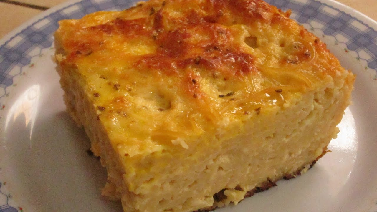 Receta Pastel De Tallarines Youtube
