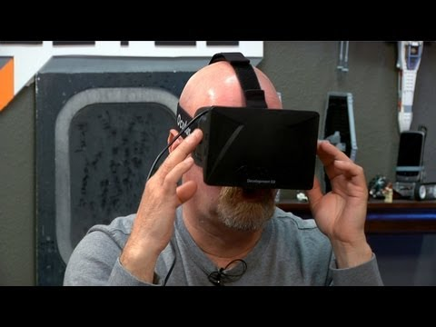 Jamie Hyneman Tests the Oculus Rift Virtual Reality Goggles