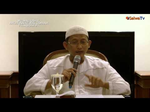 Pembahasan Kitab Mujmal Ushul Ahlisunnati Fil Aqidah Sesi 1 - Ustadz Badrusalam,Lc