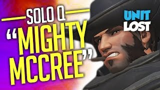 Overwatch - MIGHTY Master McCree! [SOLO Q]