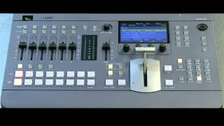 Sony MCS8M Switcher with Mix and Disolve Aux Busses EP 31
