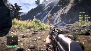 FPS Тест Pentium G3240 3.1Ghz + GTX 660 2Gb + Afterburner FarCry 4