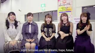 STARMARIE Interview at C3 CharaExpo 2016