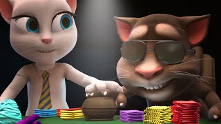 Talking Tom and Friends - Poker Face (Season 1 Episode 46)