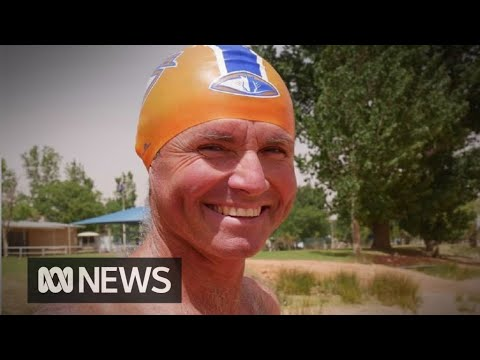 Grazier trains for English Channel swim in the outback | ABC News