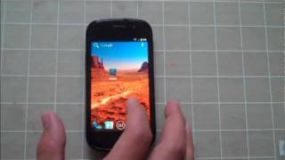 Nexus S - Android 4.0 Ice Cream Sandwich demo