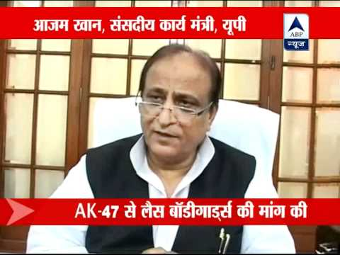 Azam Khan wants four security guards with AK-47