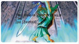The Legend of Zelda Ocarina of Time Alle Herzteile