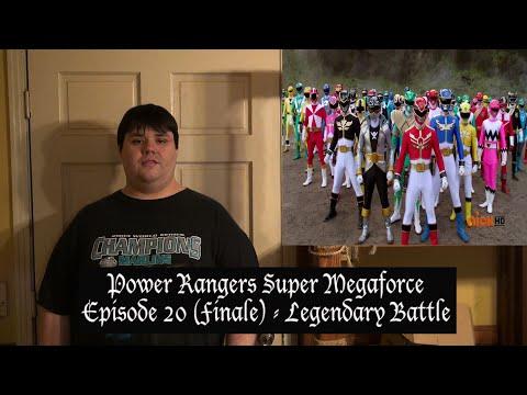 Power Rangers Super Megaforce Episode 20 FINALE