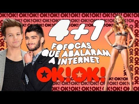 4+1: Gisele Pelada, One Direction Maconheiro E O Gorfo Da Bruna Marquezine video