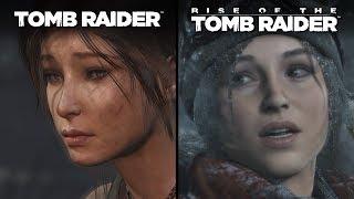 Tomb Raider vs Rise of the Tomb Raider | Direct Comparison