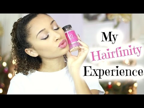 HAIR GROWTH PILLS?! Hairfinity Vitamins Review