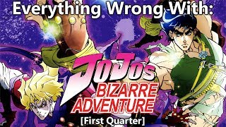 Everything Wrong With: JoJo's Bizarre Adventure (2012) | (First Quarter)