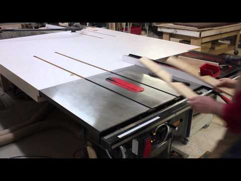 Making A Spline Jig On Your SawStop Table Saw