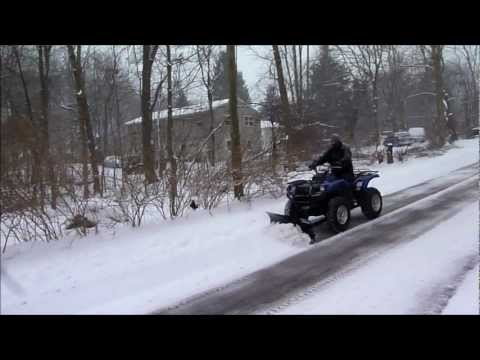 QuadBoss Pile Driver ATV Snow Plow