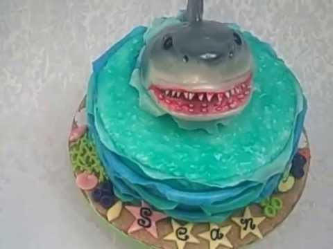 Shark Head Cake Topper