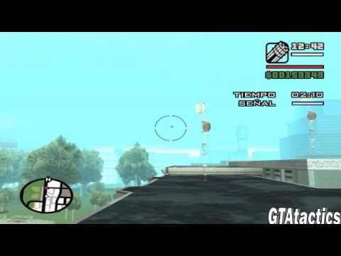 GTA San Andreas - Mision #47 - Air raid - Tutorial