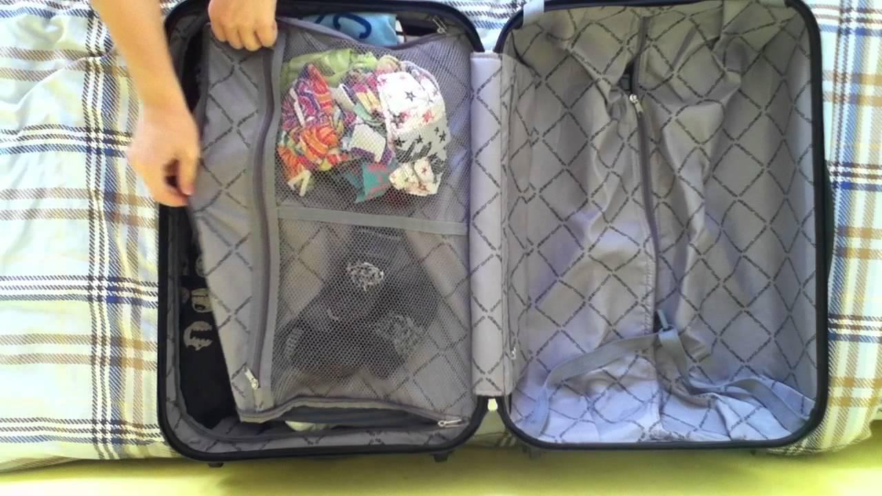 Bien faire sa valise astuce voyage youtube - Comment ranger une valise ...
