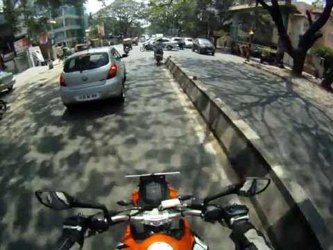 KTM Duke 200 (2012) Test Ride in Namma Bengaluru