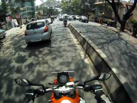 KTM Duke 200 (2012) Test Ride in Namma Bengaluru