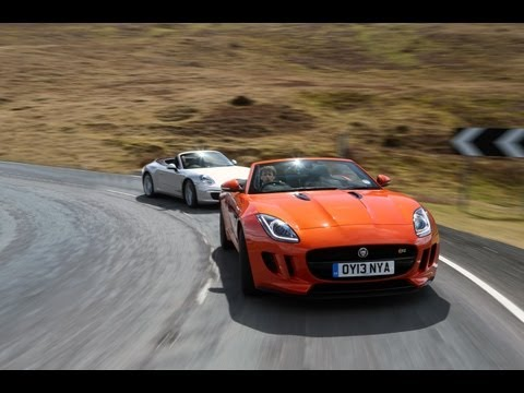 Jaguar F-type vs Porsche 911 - autocar.co.uk
