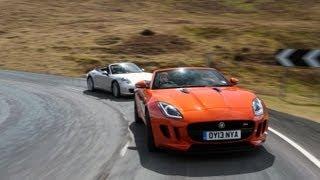 Jaguar F-type vs Porsche 911 - autocar.co.uk