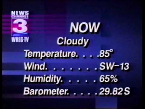 WREG TV 3  July 1994  News  Commercials  Part 2