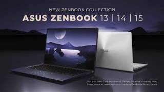 New Zenbook 13/14/15
