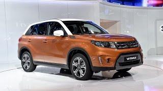 New 2015 Suzuki Vitara SUV - Paris Motor Show