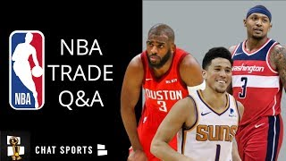 Bradley Beal, Devin Booker Trade, Chris Paul And Raptors Selling | NBA Trade Rumors Mailbag