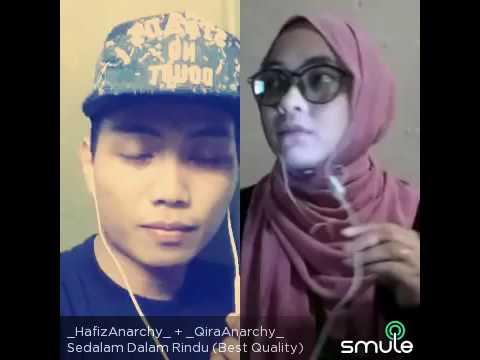 Sedalam Dalam Rindu cover by HafizAnarchy ft QiraAnarchy