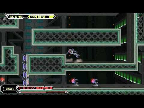 Thexder Neo psp playthrough part 1