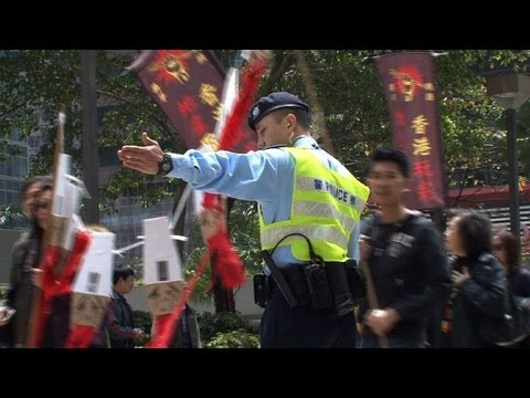 Protests as Hong Kong elite choose new leader