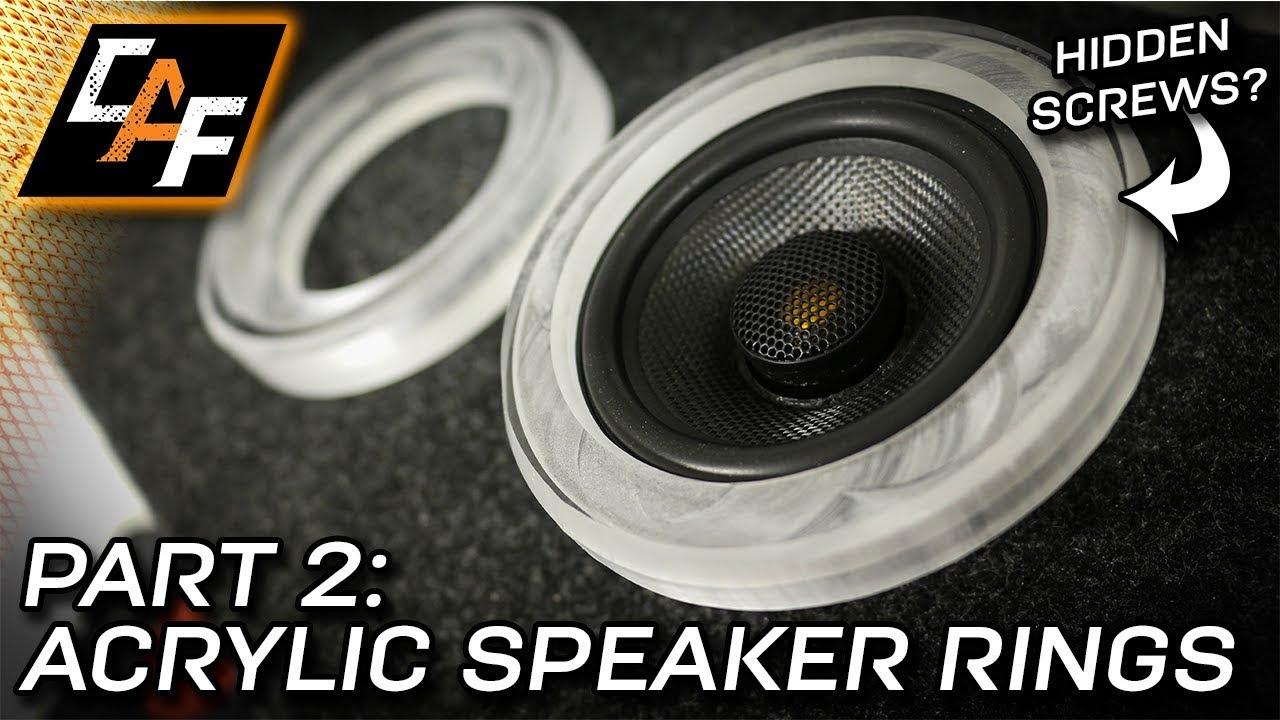 Acrylic Speaker Rings