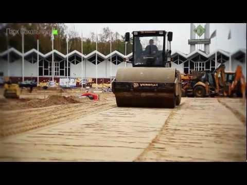 Видеофильм Строительство катка ЛЕД - авг - дек' 2012