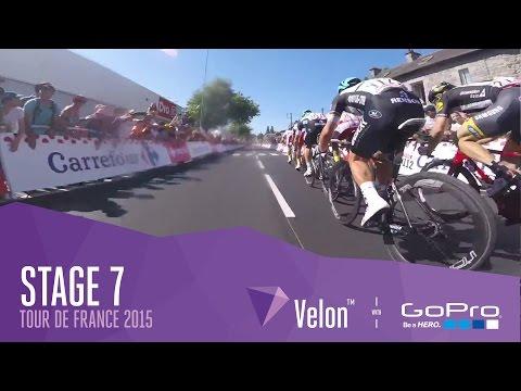 Tour de France Stage 7 - Video Highlights